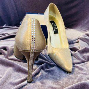Stuart Weitzman Gold Heels